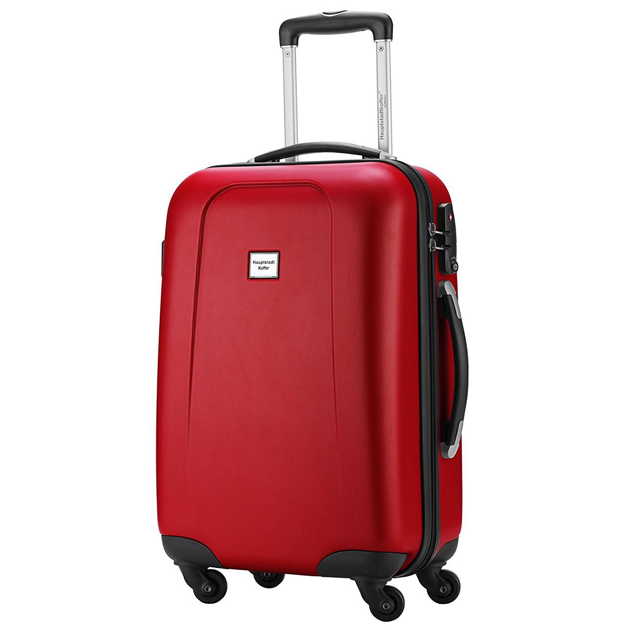 handgep ck koffer 55x38x22 cm 42 liter rot rollkoffer. Black Bedroom Furniture Sets. Home Design Ideas