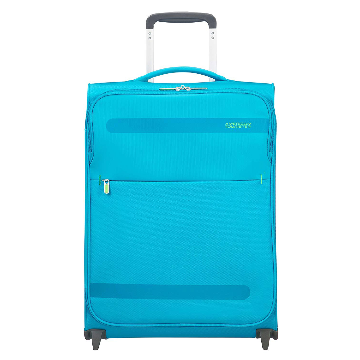 american tourister kabinengep ck trolley 55x40x20 cm mighty blue rollkoffer. Black Bedroom Furniture Sets. Home Design Ideas